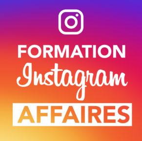 formation réseaux sociaux sur l'utilisation d'instagram pour vente sur le web et en affaires
