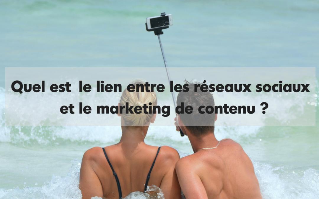 Quel est le lien entre les réseaux sociaux et le marketing de contenu ?